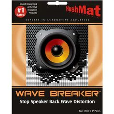 Check out the deal on Hushmat Wave Breaker Backwave Deflecting Pads Pair at Classic Car Stereos Mustang Parts, Lincoln Mercury, Sound Waves, Digital Media, Mopar, Things That Bounce, Classic Cars, Pairs, Check