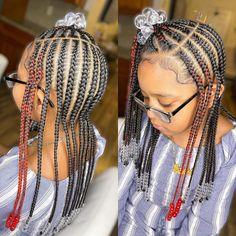 Kids Cornrow Hairstyles, Toddler Braided Hairstyles, Toddler Braids, Childrens Hairstyles, Cute Little Girl Hairstyles, Little Girl Braids, Natural Hairstyles For Kids, Braids For Kids, Girls Braids