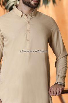 Beige Blended Classical Shalwar Kameez For Men Mens Fashion Wear, Men Wear, Designer Clothes For Men, Clothes For Women, Gents Suits, Mens Shalwar Kameez, Gents Kurta Design, Kurta Style, Eid Dresses