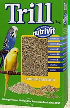 Trill Budgerigar Seed 2kg
