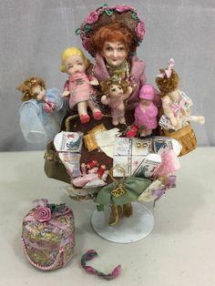 Elizabeth Staryk, IGMA fellow - doll peddler woman