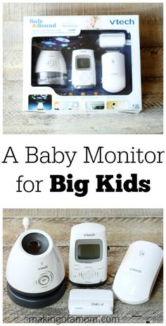 A Baby Monitor for Big Kids #GrowWithVTech [ad]