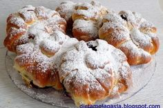 :: Rondel.pl :: Puszyste krążki drożdżowe z dżem Calzone, Paella, Doughnut, Muffin, Keto, Breakfast, Food, Morning Coffee, Essen