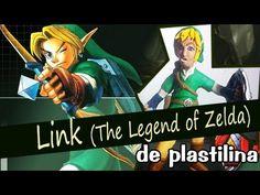 Link (The Legend of Zelda) de Plastilina - YouTube