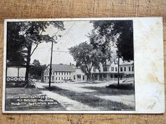 Reservoir House & Carriage Co Woodville Hopkinton MA 1906