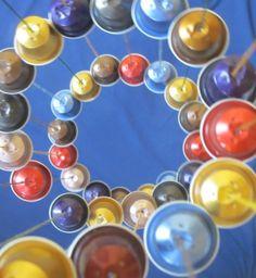 Un carillon avec des capsules de café - Meubles et objets - Pure Sweet Home