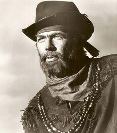 """James Coburn as Samuel Potts.    """"Major Dundee"""", Sam Peckinpah, (1965)"""