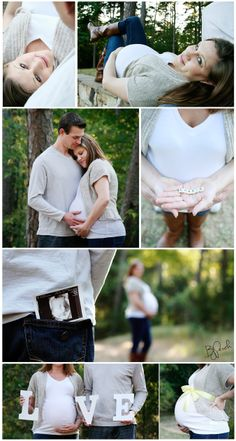 Beautiful outdoor maternity session for an amazing couple.