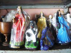 Sincretism: catholic and candomblé. Itapoã/Salvador/Bahia/Brasil.