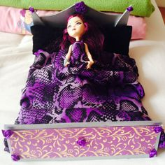 Raven Queen Ever After High bed inspired by the great Chad Alan