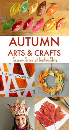 Autumn Arts And Crafts Easy Fall Art Projects For Children Leaf