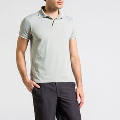 6a1e24a5 Lewis Mercerised long sleeved Polo, Navy, by Calm Collected. CĀLM Collected  · MENS POLO SHIRTS · Yacht crew uniform - CĀLM Caleb Performance Polo, ...