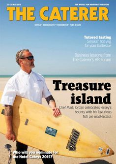 Treasure Island - Chef Mark Jordan celebrates Jersey's bounty with his luxurious fish pie masterclass. Tutored tasting - Smokin' hot veg for your barbecue. Business lessons from The Caterer's HR Forum. To subscribe go to www.thecaterer.com/subscribe