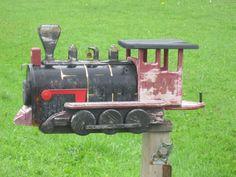 Train mailbox.................................................
