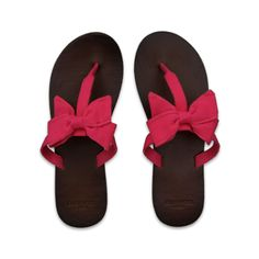 Flippin' Cute For Spring! Sandals With Bows! (PINK!!)