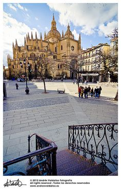 Segovia, Spain . The Plaza where we used to reunite before we would embark on our daily tours while studying at the SEK.