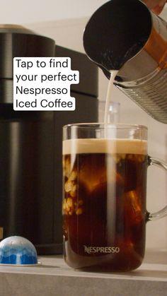 Coffee Break, Iced Coffee, Coffee Drinks, Coffee Time, Coffee Cups, Nespresso Usa, Nespresso Recipes, Home Coffee Stations, Sweet Breakfast