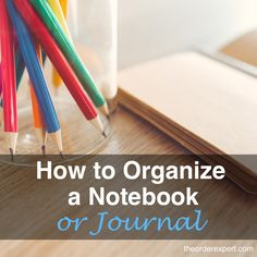 Work notebook organization leaving you a bit puzzled? Learn how to organize notes at work with these tips. Office Organization At Work, Notebook Organization, Organisation Hacks, Organizing Tips, Clutter Organization, Business Organization, Organising, Office Supplies List, Diy School Supplies