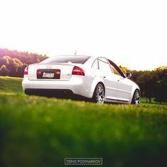 Audi C5 A6 4.2 in Pearl White
