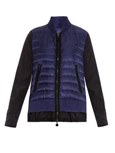 Moncler Avril quilted panel jacket