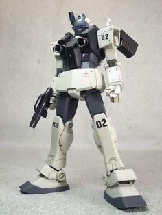 RGM-79V GM Night Seeker - Federazione Terrestre (Manga: MSV-R: The Return of Johnny Ridden e Mobile Suit Gundam 0083 Rebellion.)