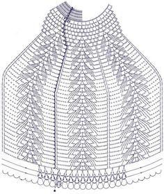 Схема абажура Crochet Chart, Thread Crochet, Filet Crochet, Crochet Motif, Irish Crochet, Crochet Doilies, Crochet Toys, Crochet Stitches, Knit Crochet