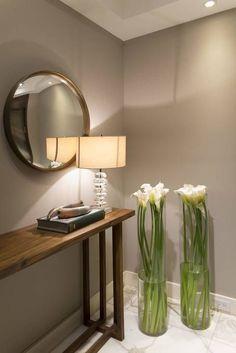 Departamento Altus: Pasillo, hall y escaleras de estilo por Hansi Arquitectura. ¡Iluminación perfecta!