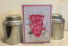 Wednesday, January 6, 2016 Laura's Creative Moments:  Timeless Textures, A Nice Cuppa - STAMPIN' UP!