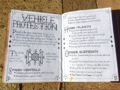 GRIMTALK - Week is a weekly snapshot of my personal Grimoire as it progresses each week and this week on GRIMTALK is a Vehicle Protection Spell Bag and a Vehicle Protection sigil. Placed in the glove compartment of your car or vehicle, this. Wiccan Witch, Wicca Witchcraft, Magick, Grimoire Book, Baby Witch, Eclectic Witch, Protection Spells, Witch Spell, Witch Aesthetic