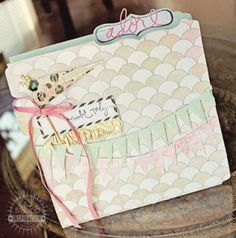 This project's soft colors and subtle sweetness put such a smile on my face! Ranjini definitely worked her 'magic' to create this amazing Memory File project. I asked Ranjini to create a Memory Fi…