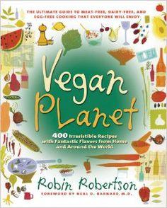 Vegan Planet Cookbook has over 400 vegan recipes! :)
