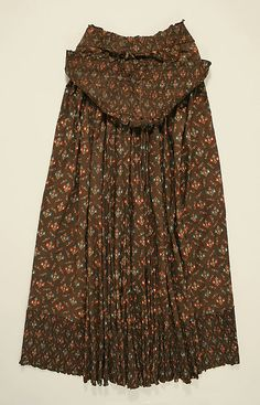 Cape    Date:      early 19th century  Culture:      British (probably)  Medium:      cotton