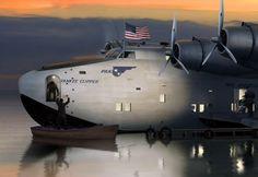 Boeing 314 PAN AM American Clipper