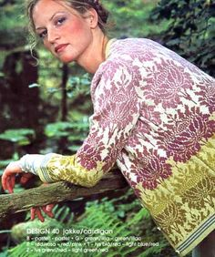 Solveig Hisdal Desingn Fair Isle Knitting Patterns, Knitting Stitches, Crochet Patterns, Knit Fashion, Knit Or Crochet, Fair Isles, Pulls, Knitting Projects, Pullover
