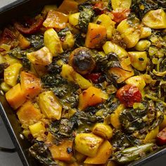 Ottolenghi's Iranian Vegetable Stew - substitute turnip for potatoes and swede for the squash.