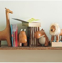 Weighted animal bookends | Serena + Lily