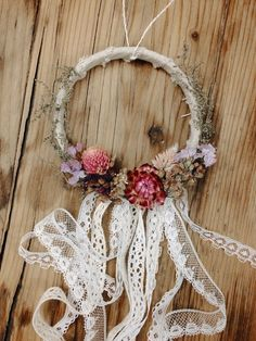 Gwen Small Dreamcatcher by MeadowandMoss on Etsy