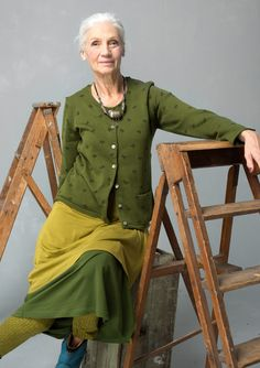 """""""Kerstin"""" cardigan in eco-cotton – Fabulous rugs – GUDRUN SJÖDÉN – Webshop, mail order and boutiques 