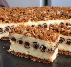Pudingos szelet kakaókrémes ostyarudacskával - Ez Szuper Hungarian Recipes, Dessert For Dinner, No Bake Cake, Tiramisu, Sweet Tooth, Cheesecake, Dessert Recipes, Food And Drink, Sweets