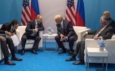 Trump-Putin Meeting at G-20 Lasts Far Longer Than Scheduled
