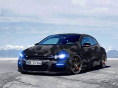 Volkswagen Scirocco R Line Camouflage Style :)