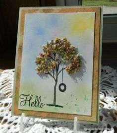 IC385 The Rays of Spring by vdm - Cards and Paper Crafts at Splitcoaststampers  flower soft on branch out set