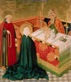 Presentation of Jesus in the Temple - Master of the Albrecht Altars - 1438-1440