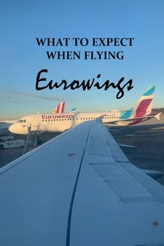 What to expect when flying Eurowings - Travel for a Living Europe Destinations, Europe Travel Tips, Budget Travel, Travel Checklist, Travel Advice, Travel Essentials, Travel Guides, Voyager Seul, Vacation Quotes