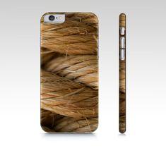 Nautical Rope Phone Case - Macro Photography