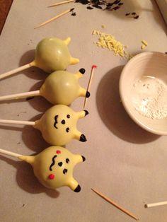 Pokemon pikachu cakepop evolution