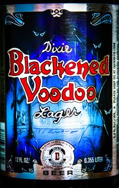 dixie beer louisiana   Dixie Blackened Voodoo Lager New Orleans LA   Flickr - Photo Sharing!