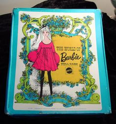 1968 Mod The World of Barbie doll case from Mattel captures the 1960s. via Etsy.