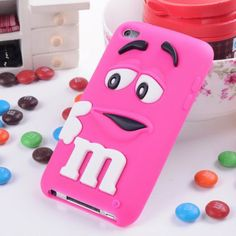 【Cute】3D Lovely Soft Silicone Case Cover Protect For Apple Ipod Touch 4 4TH Gen i want this