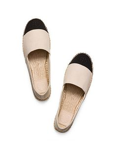 Tory Burch Espadrille Color-block Flat Espadrille
